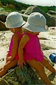 My Twins on Cape Cod