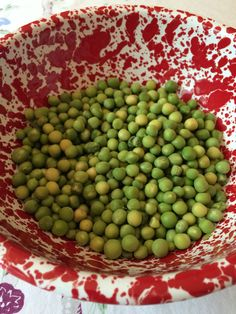 How to Dehydrate Peas Fresh, Canned or Frozen