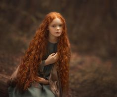 Photo by juliazarkh Beautiful Red Hair, Beautiful Redhead, Pretty Hair, Red Hair Little Girl, Character Inspiration, Character Design, Foto Fantasy, Honey Brown Hair, Ginger Girls