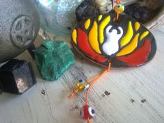 FIRE ELEMENT goddess protect me and my house di SalemRaven su Etsy