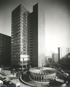 SOM's Crown Zellerbach building in San Francisco. A mid-century masterpiece.