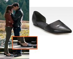 """fifty shades anastasia black flats shoes costume designer: """"I read that you said you wanted to custom design most of Christian and Anastasia's looks in order to avoiding branding, why is that? There's a couple of reasons. One of them is you'll sit in the theater and someone owns something from the Anthropologie, and they're like, oh my god that's Anthropologie, and I have that! But it's like a year old, it's from fall of 2013 and now its spring of 2015. ..."""""""
