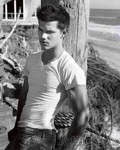 Taylor Lautner- Loved him since The Adventures of Sharkboy and Lavagirl