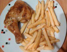 Recept Kuřecí stehna plněná nivou Chicken Wings, Bacon, Meat, Breakfast, Author, Morning Coffee, Pork Belly, Buffalo Wings
