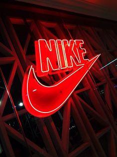 Wallpaper Iphone Neon, Nike Wallpaper, Aesthetic Iphone Wallpaper, Red Aesthetic Grunge, Aesthetic Colors, Aesthetic Dark, Aesthetic Vintage, Nike Neon, Red And Black Wallpaper