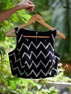 Black Blouse Designs, Cotton Saree Blouse Designs, Blouse Neck Designs, Saree Designs Party Wear, Stylish Blouse Design, Blouses, Modern Wardrobe, Sarees, Cotton Fabric