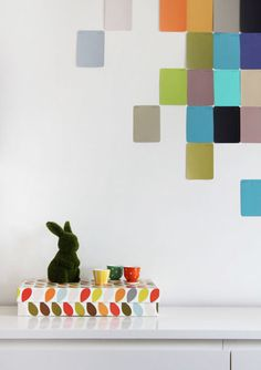 the red thread: DIY Wall Art :: Paint Chips
