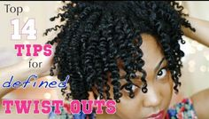 I decided to make a video giving you my top 14 tips that will help you achieve perfect, defined twist outs every single time. Natural Hair Twist Out, Natural Hair Care Tips, Natural Hair Journey, Natural Hair Styles, Natural Curls, Natural Skin, Hair Without Heat, Natural Hair Tutorials, Natural Hair Inspiration