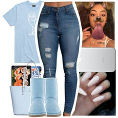 Mar 2020 - A fashion look from December 2016 by theyknowniyaaa featuring UGG Australia and Michael Kors Boujee Outfits, Teenage Outfits, Cute Swag Outfits, Cute Outfits For School, Dope Outfits, Polyvore Outfits, Trendy Outfits, Winter Outfits, Summer Outfits