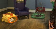 Cats & Dogs Stuff Beds, houses, bowls, the scratching post, the litter box and the pet toy crate are all functional. The Sims, Sims Cc, Sims 4 Mods, Sims 4 Cc Furniture Living Rooms, Sims Pets, Sims 4 Cc Kids Clothing, Sims 4 Cc Skin, Sims Four, Sims 4 Toddler