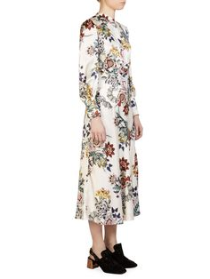 Erdem Orlena Silk Dress