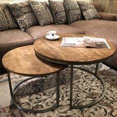 Brix Salontafel Set - Ruf - Sfeer.nl, meubelen en woonaccessoires