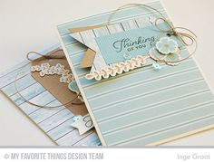 Patterned Paper : January Card Kit Release - Beautiful Blooms Card Kit