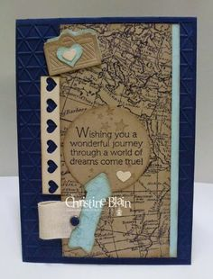 HAPPY HEART CARDS: CTC #2 : STAMPIN' UP! WORLD MAP
