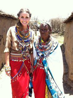 THE OLIVIA PALERMO LOOKBOOK: Olivia Palermo: Ambassador Of The Maasai Project 2013 for Pikolinos