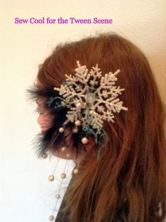 Sew Cool for the Tween Scene: hair barrettes and headband DIY