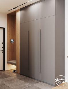 Gennady Shmidt on Behance Wall Wardrobe Design, Wardrobe Door Designs, Wardrobe Room, Bedroom Closet Design, Home Room Design, Wadrobe Design, Minimalist Small Bathrooms, Home Entrance Decor, Decoration Entree