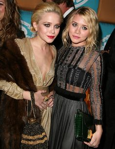 Ashley Olsen Mary-Kate Olsen Photos Photos: In Style Magazine And Warner Bros. Studios Golden Globe After Party Mary Kate Ashley, Ashley Olsen Style, Olsen Twins Style, Olsen Fashion, Fashion Outfits, Olsen Sister, Glamour, Just In Case, Beautiful People