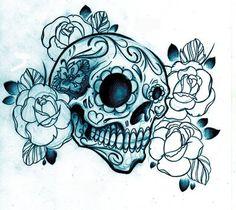 sugar skull crazy-for-tattoos