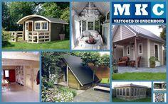Heeft u grote plannen met uw tuinhuis?   Wilt u van de blokhut, overkapping of schuur geen opbergruimte, maar een sfeervolle tuinkamer, hobby- of loungeruimte maken?  Dan is MKCbv  de geschikte partner voor u.   Wij zorgen voor een op maat gemaakte ruimte. Wij isoleren en timmeren alles af, hierdoor transformeert uw rommelige schuur in een prachtige kamer.   Een toekomstgerichte keuze, wij verlengen uw woonkamer met de tuin en dat zorgt voor een waardeverhoging van uw huis