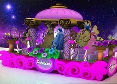 princess, disney, parade, carros alegoricos, princesas