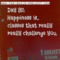 Classes, College Life The Smile Project.