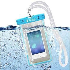 FRiEQ® Universal Waterproof Case for Apple iPhone 6, 6P, 5s, 5, Galaxy S6, S5, #FRIEQ