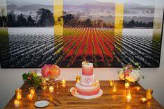 Bright Pink Vineyard Fête in Sonoma   Napa + Sonoma, CA