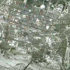 Jiagedaqi District satellite map China Asia city