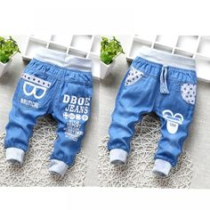 Hot Sale Baby Boys Jeans Elastic Waist Denim Cropped Pants Cartoon Glasses Casual Soft Kids Clothing 2-5Y 2018 Summer New Jeans  Price: 14.38 & FREE Shipping  #fashion #sport #tech #lifestyle Cartoon Glasses, Jeans Price, Boys Jeans, Fashion Pants, Cropped Pants, Boy Outfits, Elastic Waist, Denim, Kids Clothing