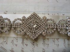 Sparkle wedding bridal buckle