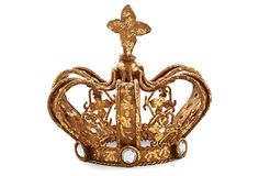 "Decorative Crown, Star Accent 5"" on OneKingsLane.com Note to self: this may be the missing touch, need this"