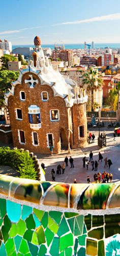 Park Guell in Barcelona, Spain. | Top 10 Most Visited Countries in the World in 2014
