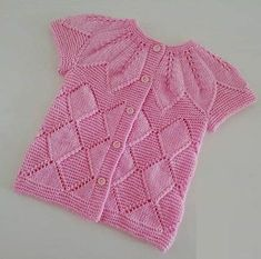 Leaf pattern child vest starting from the side recipe. Crochet Baby Clothes Boy, Crochet Baby Cardigan, Crochet Vest Pattern, Crochet Toddler, Easy Crochet Patterns, Knit Crochet, Free Baby Patterns, Knitting Patterns Boys, Baby Clothes Patterns