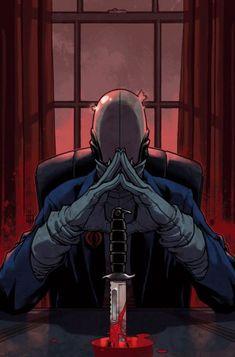 Cobra Commander - line art: Zach Howard, color art: Nelson Daniel Cartoon Clip, Cartoon Shows, Character Poses, Character Design, Cobra Commander, Storm Shadow, Gi Joe Cobra, Human Art, Comic Artist