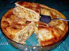 Pastelão de legumes e frango