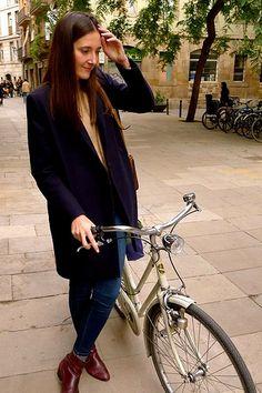 Barcelona Cycle Chic: Carla