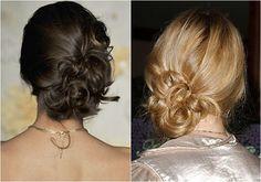 Penteado para casamento: Coque lateral, qual a melhor escolha? - Modelito - Irmãs, jornalistas, apaixonadas por moda - CidadeVerde.com ::