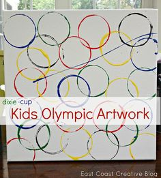 Olympic Crafts for Kids {2012 Olympic Games} - East Coast Creative Blog