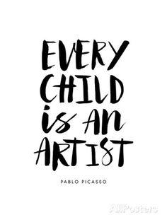 Every Child is an Artist Poster von Brett Wilson bei AllPosters.de