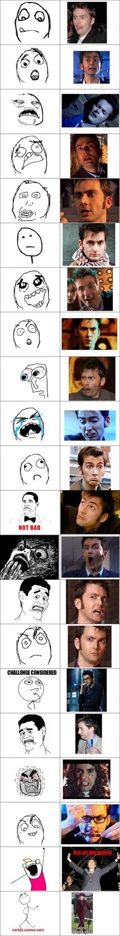All those memes should be replaced with David Tennant faces from now on!