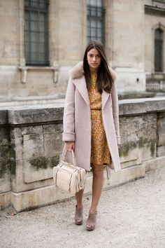 lavender coat // Vanessa Jackman