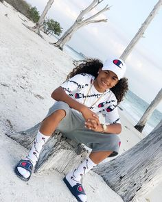 Image may contain: 1 person, shorts and outdoor Cute Tomboy Outfits, Tomboy Swag, Estilo Tomboy, Swag Outfits, Baby Boy Outfits, Tomboy Style, Girl Style, Cute Black Babies, Cute Black Boys