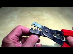 011: MOLEX & OPEN BARREL PIN CRIMPING, Video 1 - YouTube