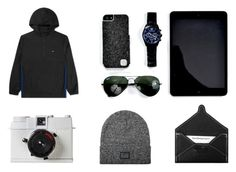 LuxLife Grey by thewtfactory on Polyvore featuring polyvore, fashion, style, HUF and modern