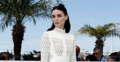 Ms. Mara in Alexander McQueen in Cannes.