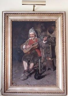 Signed VINCENZO CAPRILE 1856-1936 Oil Painting on Canvas Late 19th / 20th C.