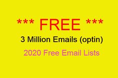 FREE Email Lists 2020 Buy Email List, Business Emails, Free Email