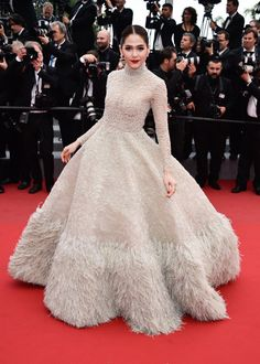 Araya A. Hargate in Ashi Studio. See all the best looks from the 2015 Cannes Film Festival.
