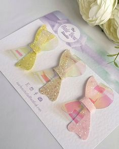 Pastel, Summer, Spring,Easter Glitter Hair Bows, Headbands,Vinyl, Uk by TheHairBowStudio on Etsy